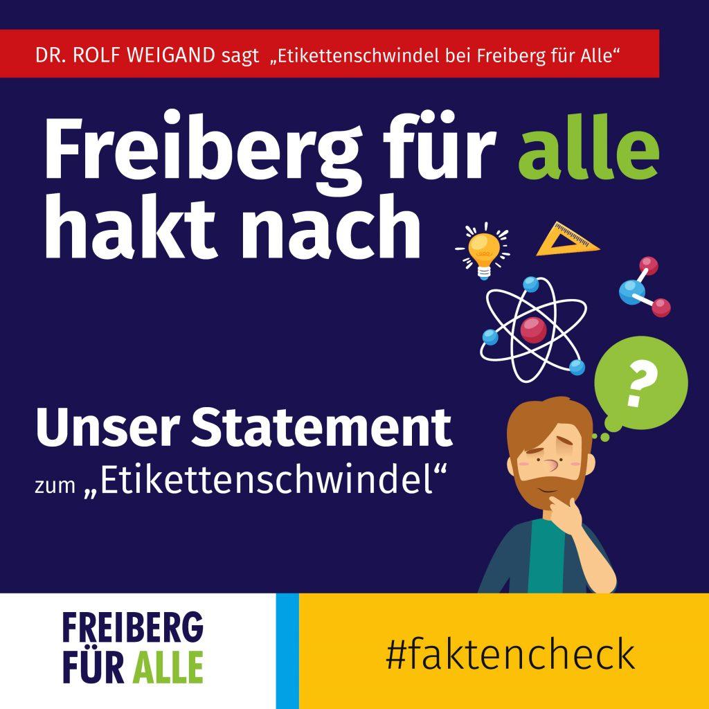 """Unser Statement zu """"Etikettenschwindel"""""""